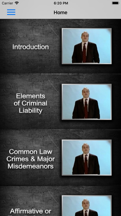 Criminal Law: Supreme Bar