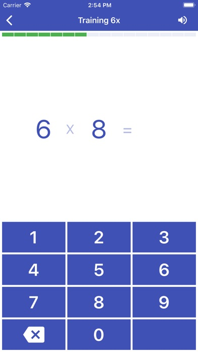 Multiplication Table. Axiom screenshot three