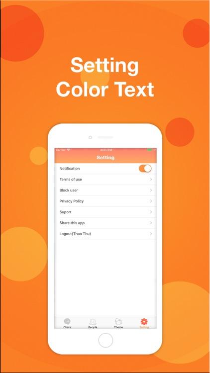 Color Chats - Text Messages screenshot-4