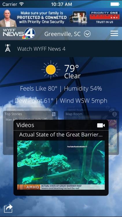 WYFF 4 Weather