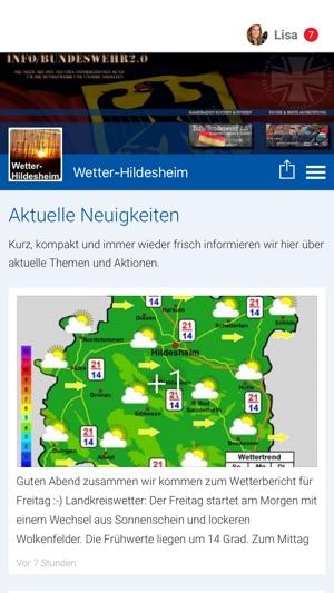 Wetter Hildesheim Im App Store