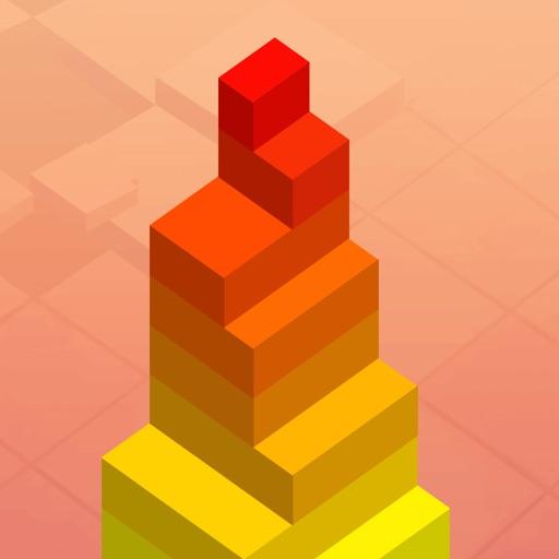 叠方块 - 益智小游戏