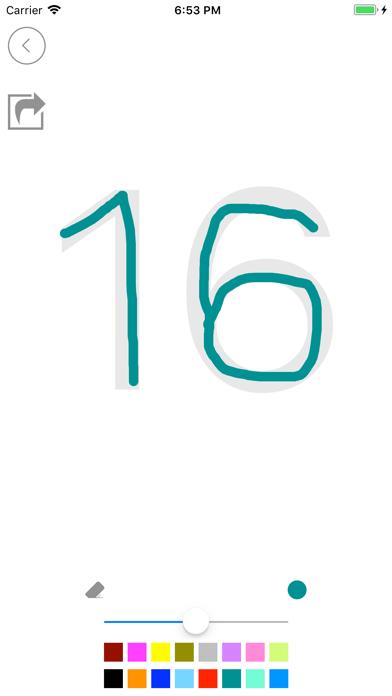 تعلم الحروف والأرقام الانجليزي screenshot 6