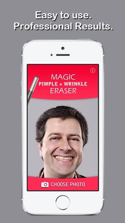 Magic Pimple+Wrinkle Eraser screenshot-4