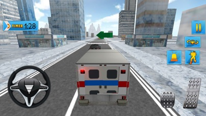 Ambulance Robot Transform 3D Screenshot