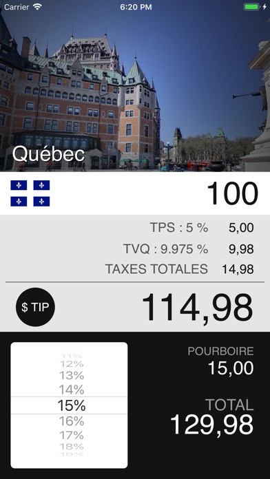 download Taxes de Vente au Canada apps 4