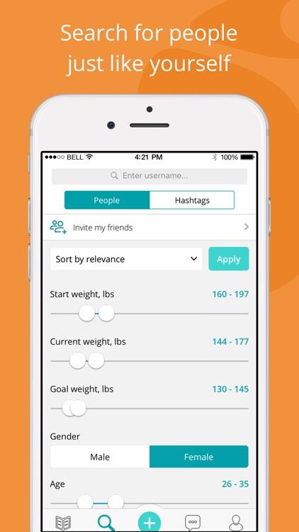 Twinbody weight loss community screenshot-3