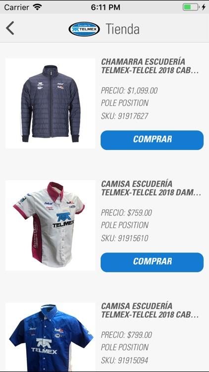 Escudería TELMEX screenshot-7