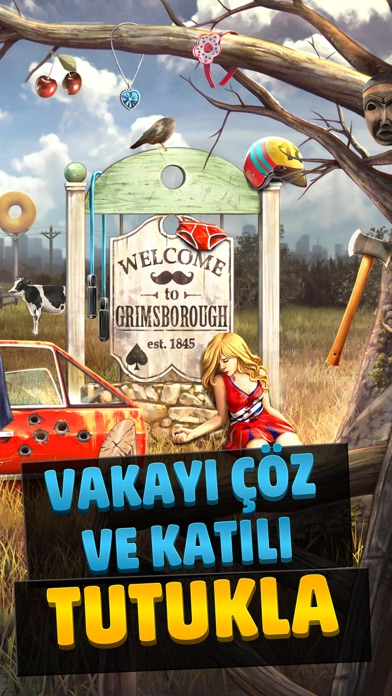 Screenshot for Criminal Case in Turkey App Store