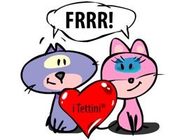 The Cats OdaLisca and Grattino