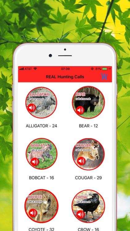 REAL Animals Hunting Calls screenshot-3