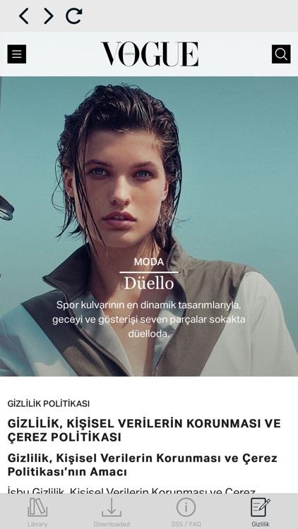 Vogue Türkiye screenshot-4