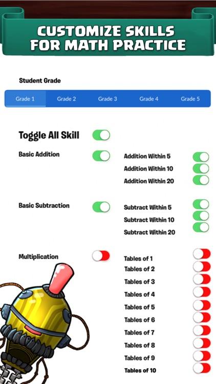 Monster Math : Kids Fun Games screenshot-3