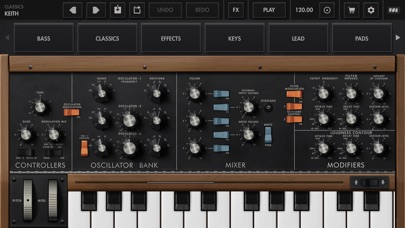 Minimoog Model D Synthesizer screenshot 1