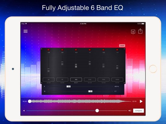 Screenshot #3 for AudioMaster Pro