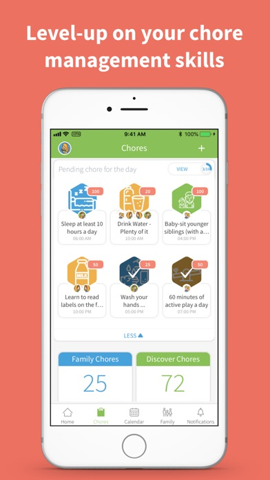 S'moresUp - Best Chores App Screenshot on iOS