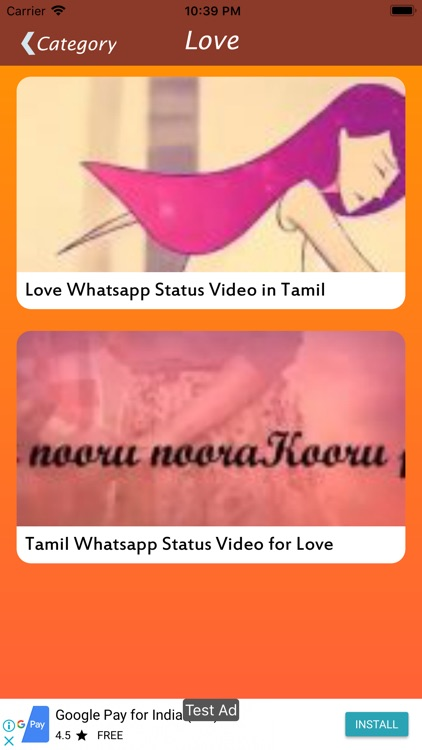 Tamil Status Video by Bhumita Radadiya