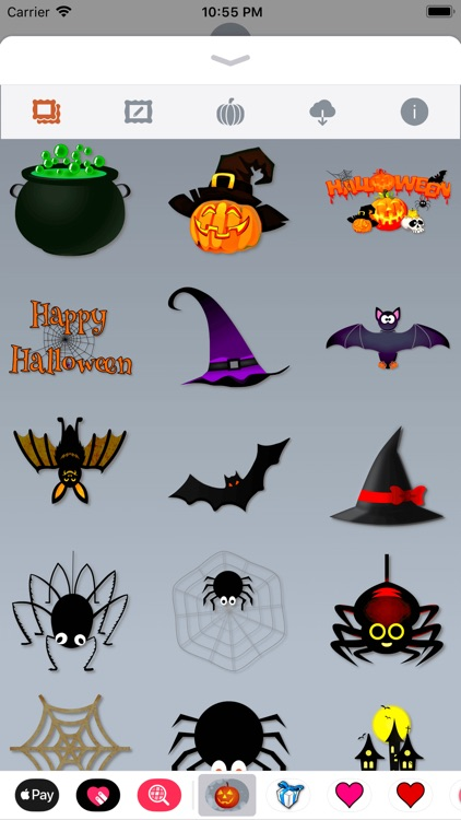 Happy Halloween • 140 stickers screenshot-2
