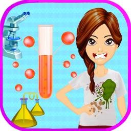 Nerdy Girl - Science Lab Geek
