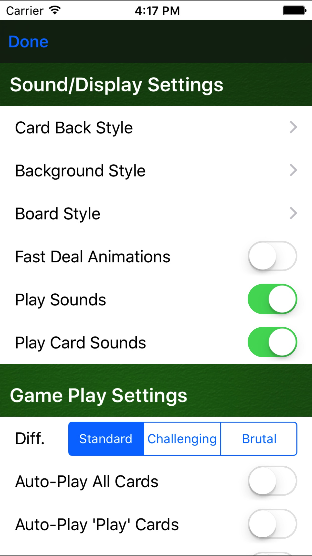 Cribbage Pro Screenshot