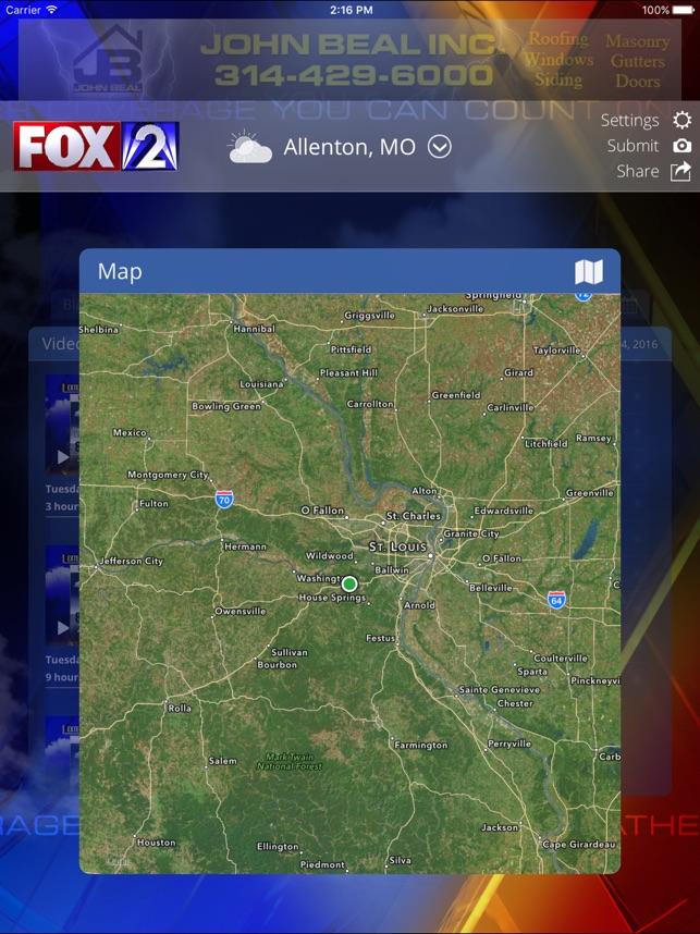 Fox 2 St Louis Weather on