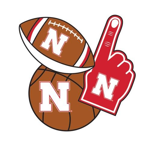 Nebraska Cornhuskers Selfie Stickers