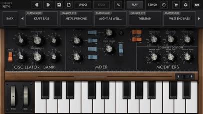 Minimoog Model D Synthesizer screenshot 4