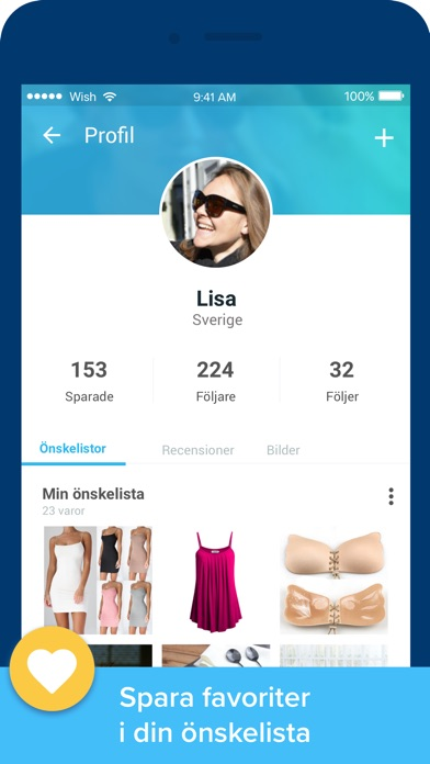 Screenshot for Wish - Roligare Shopping in Sweden App Store
