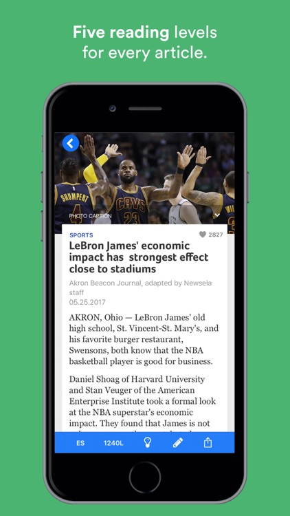 Newsela screenshot-1