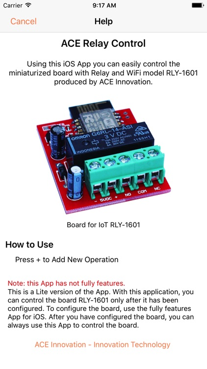 ACE Relay Control (Lite) screenshot-3