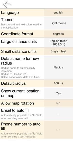 Radius On Map on the App Store on
