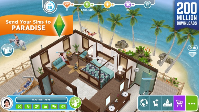The Sims 2 App Store