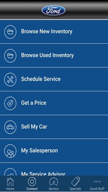 Galpin Motor's Automotive App