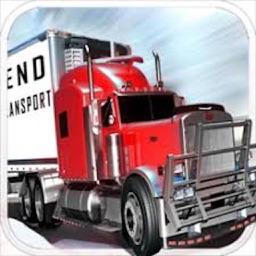 Ice Road Truck Simulator Race