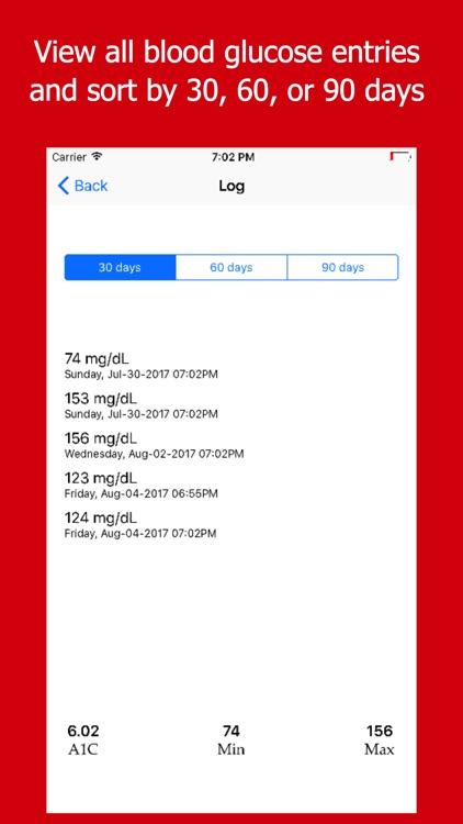 DiaLog - Diabetes Log screenshot-3