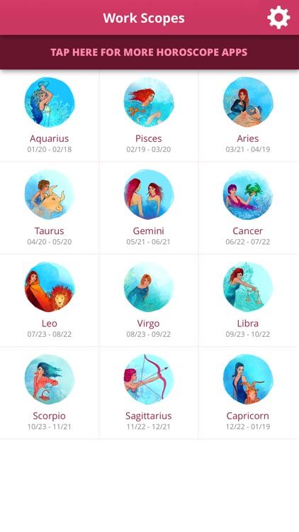 Work Horoscopes screenshot-3
