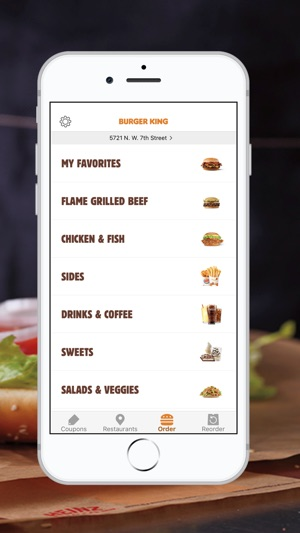 Burger King App On The App Store