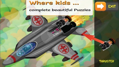 PUZZINGO Planes Puzzles Games screenshot two