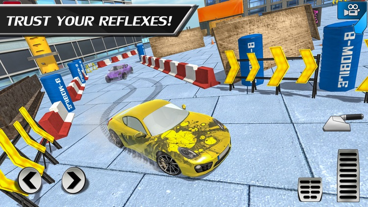 Car Drift Duels: Roof Racing screenshot-3
