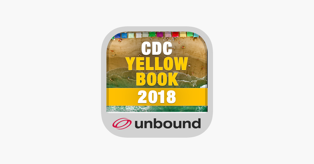 CDC Yellow Book on the App Store