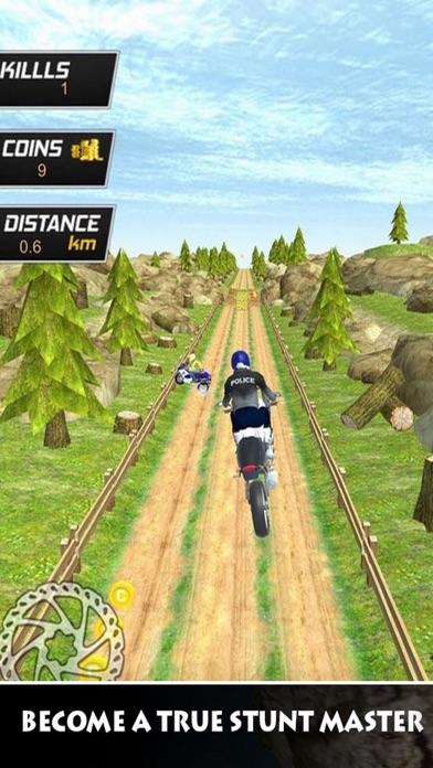 Police Bike Stunts Offroad screenshot three