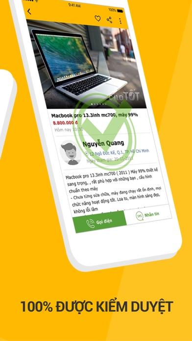 Screenshot for Chợ Tốt -Chuyên mua bán online in Viet Nam App Store