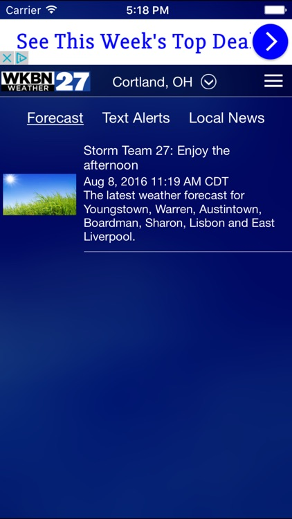WKBN 27 Weather - Youngstown screenshot-3