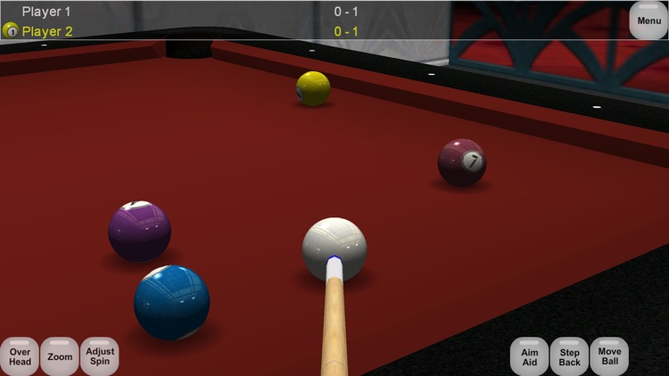 Virtual Pool Lite screenshot-2