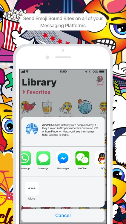 Bites - Emoji Sound Bites screenshot-4