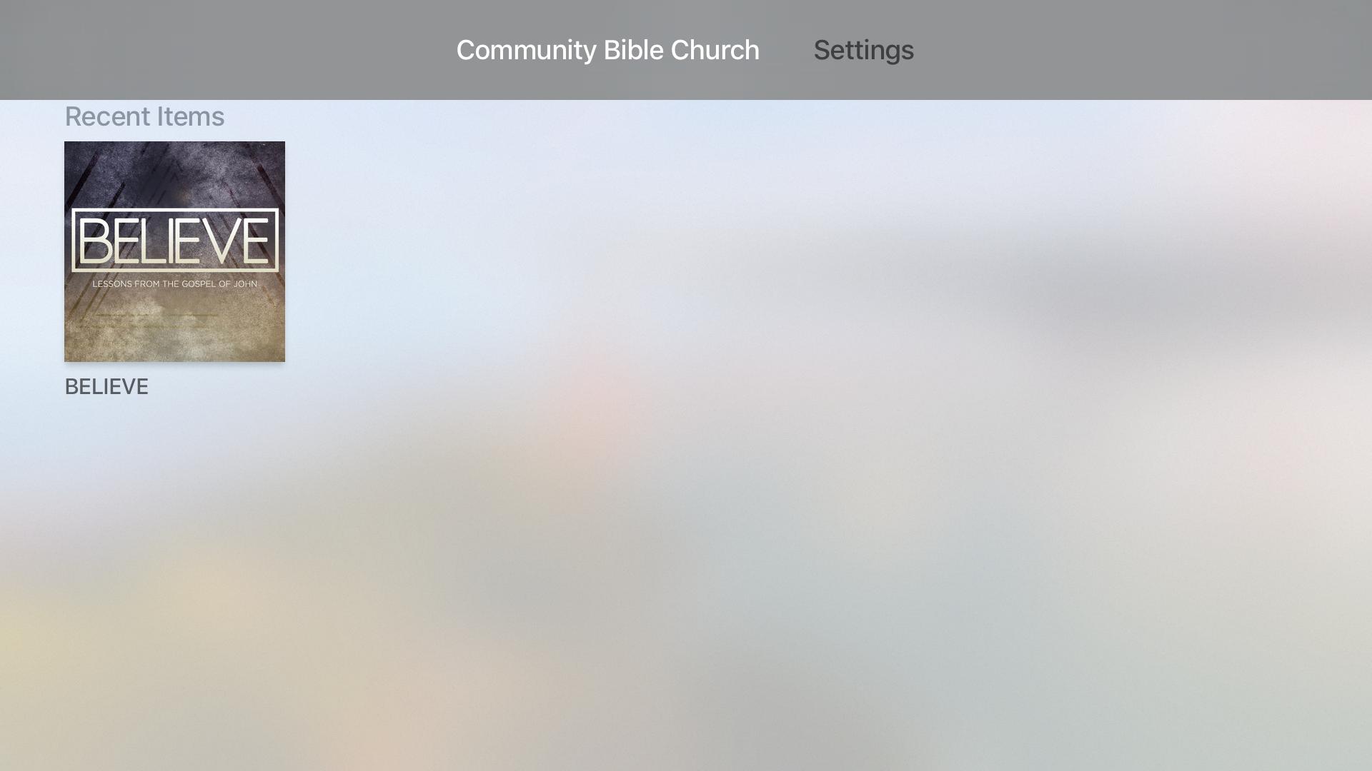 Community Bible Church screenshot 7