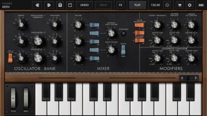 Minimoog Model D Screenshot 2