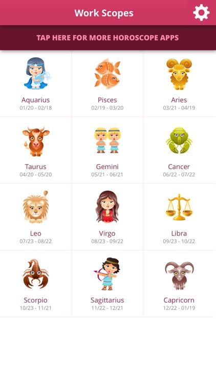 Work Horoscopes