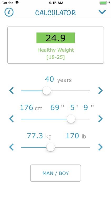 Body Mass Index 2018 (AIMapps) screenshot-4