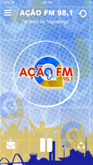 Rádio Ação FM 98,1 screenshot one